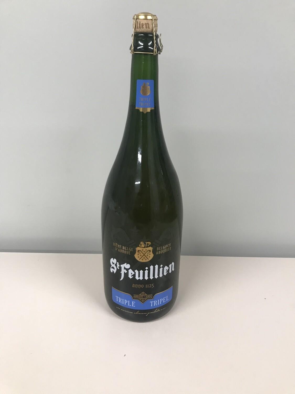 biere bouteille 1.5 lts  st-feuillien triple 8.5