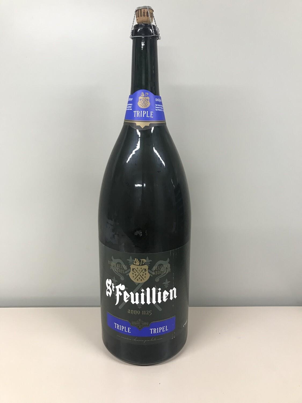 biere bouteille 3 lts st-feuillien triple 8.5%