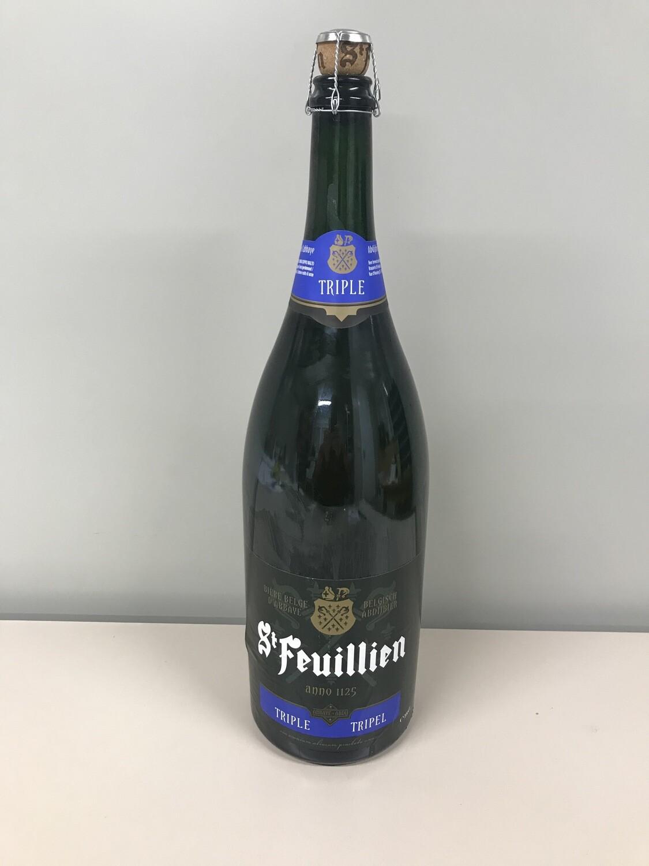biere bouteille st-feuillien triple 3lts 8.5%
