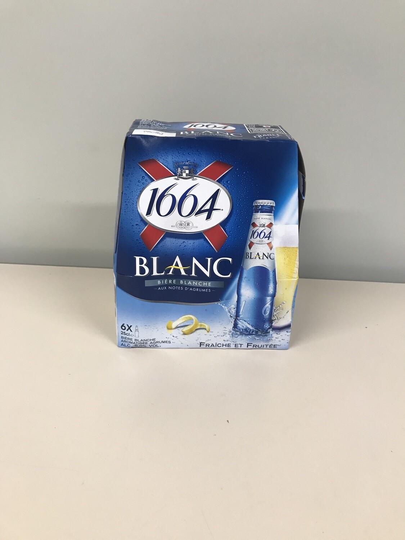 biere blanche 1664 pack de 6bouteilles
