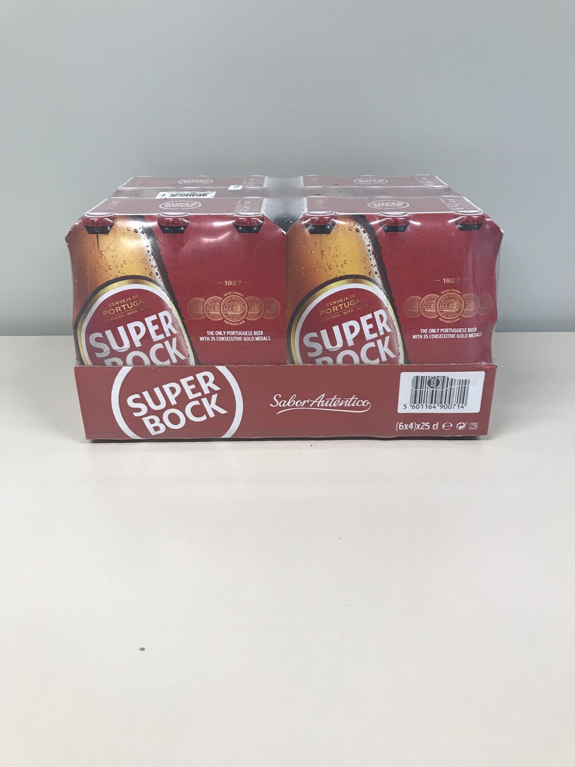 biere blonde super bock 24 X 25 cl VP 5.2%