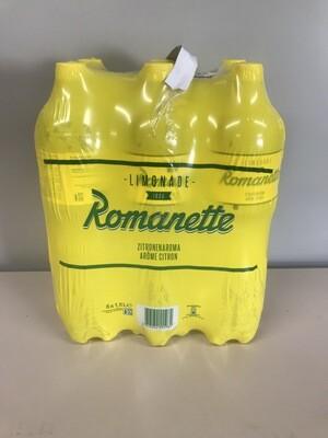 soft romanette citron 6 X 1.5l pet
