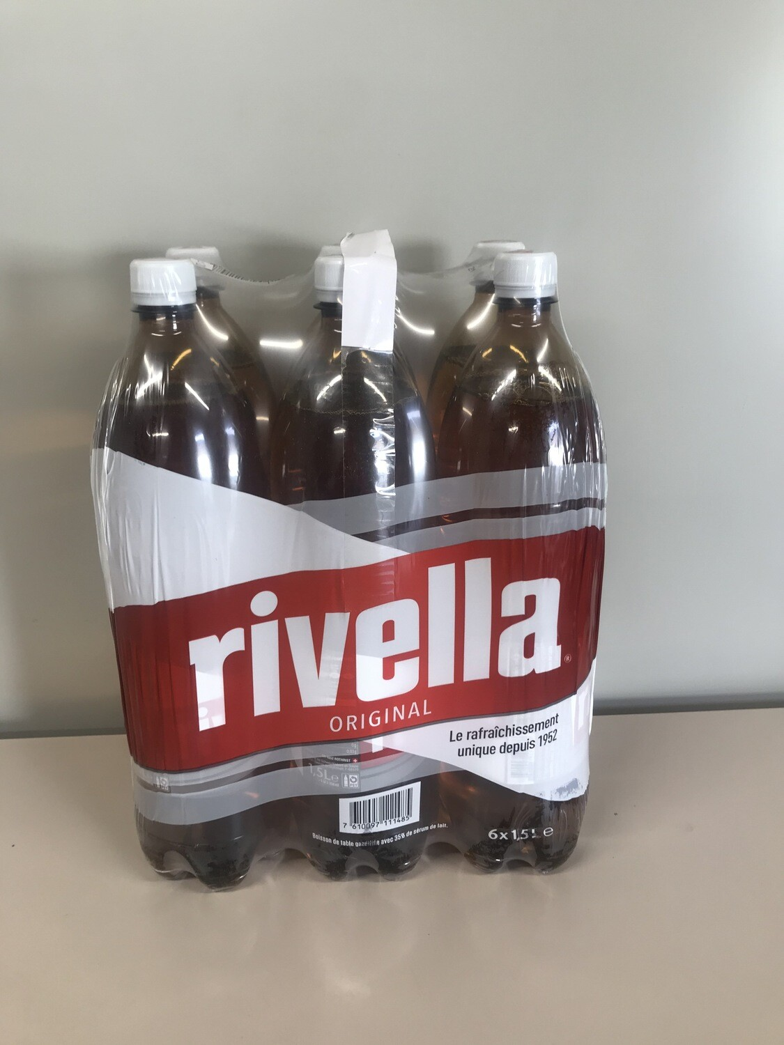 soft rivella rouge 6 X 1.5l