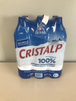 soft cristalp sans gaz 6 X 1.5l pet
