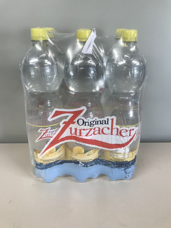 soft zurzacher citron 6 X 1.5l pet