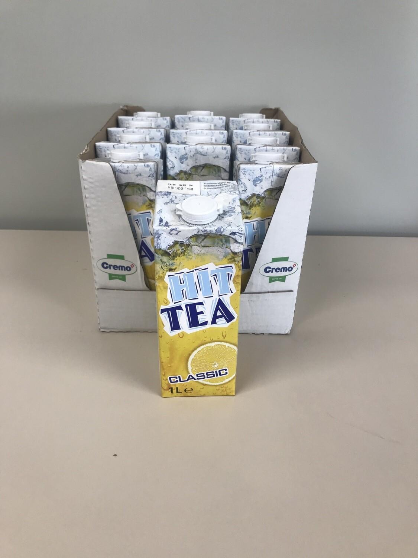 soft hit tea lemon brique 12 X 1l