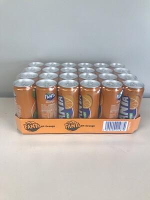 soft fanta orange canette 4 X 6 X 33cl