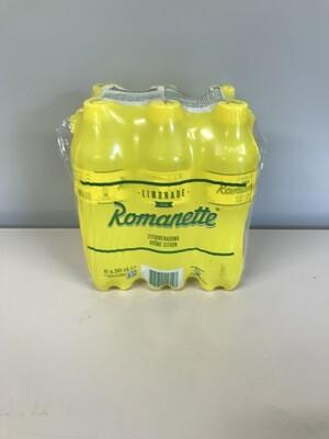 soft romanette citron 6 X 50cl pet