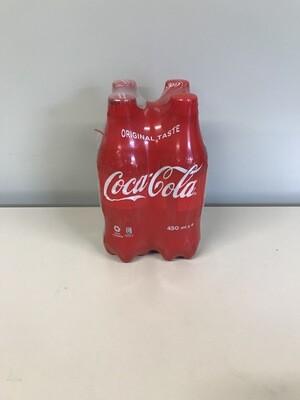 soft coca-cola 4 X 45cl pet