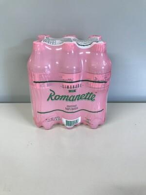 soft romanette grapefruit 6 X 50cl pet