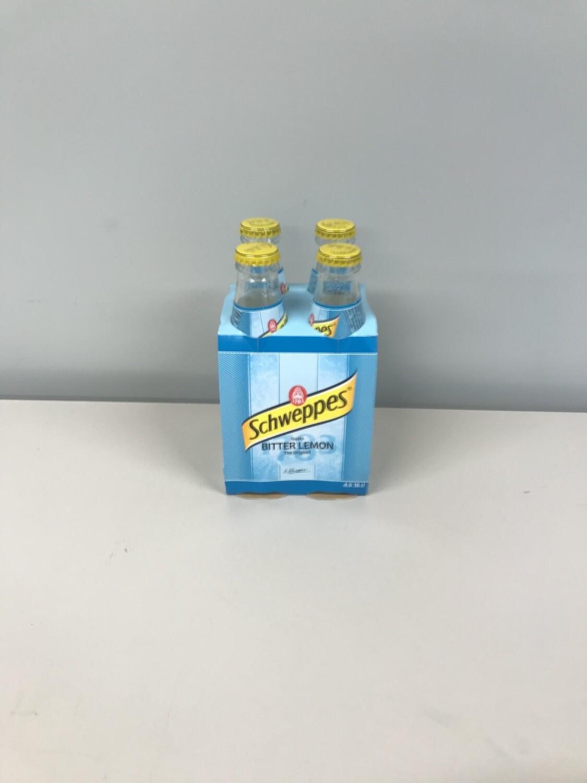 soft schweppes lemon 4 X 18cl VP