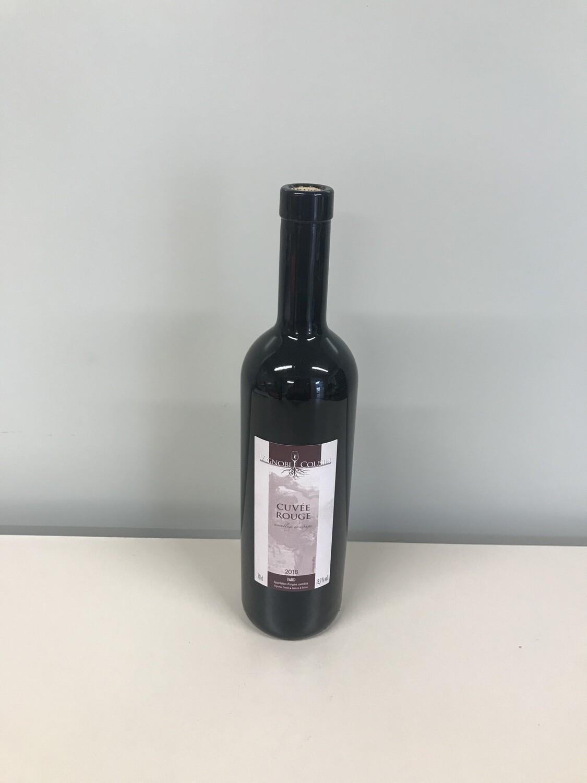 vin rouge  cuvée rouge 70 cl