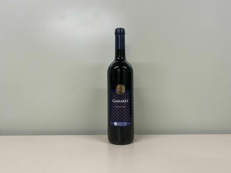 vin rouge gamaret 75 cl  cvb