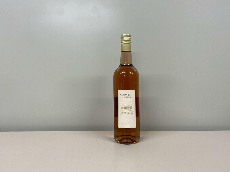 vin rose  la gavottes 70 cl