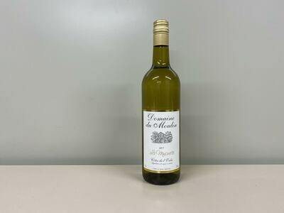 vin blanc  la mujonette 75 cl  gass