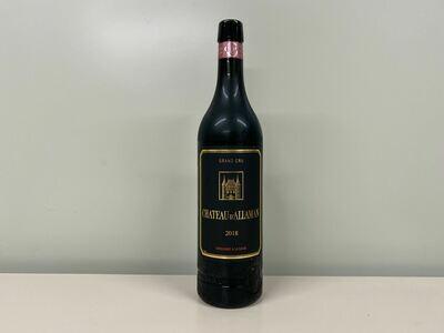 vin rouge  chateau allaman 75 cl
