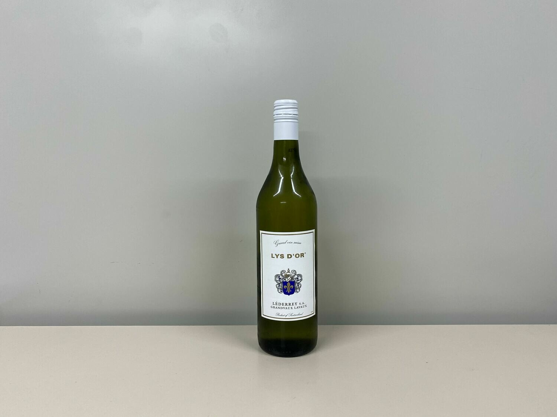 Vin blanc Lys d'or 75 cl