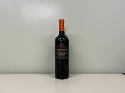 Vin Rouge La Porte de Novembre 75 cl