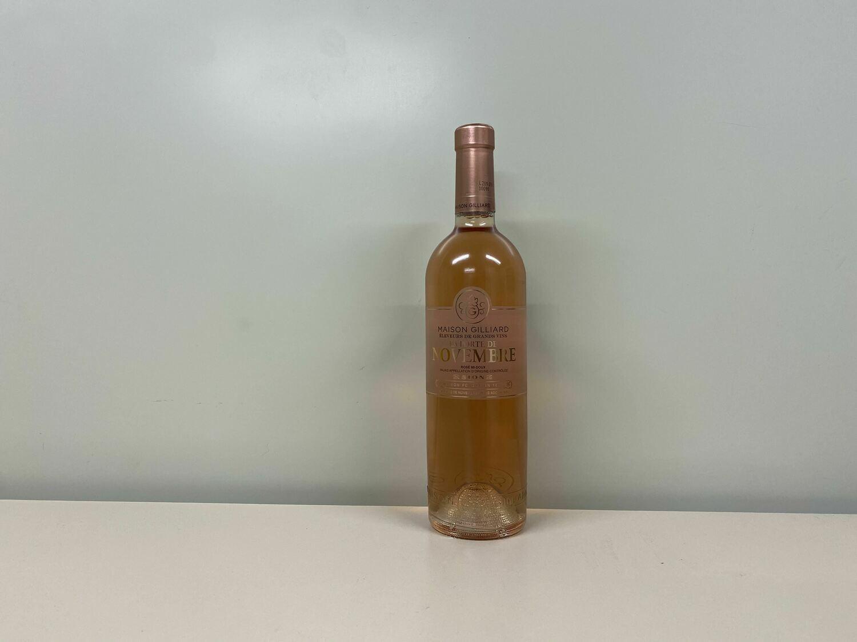 Vin Rosé La Porte de Novembre 75 cl