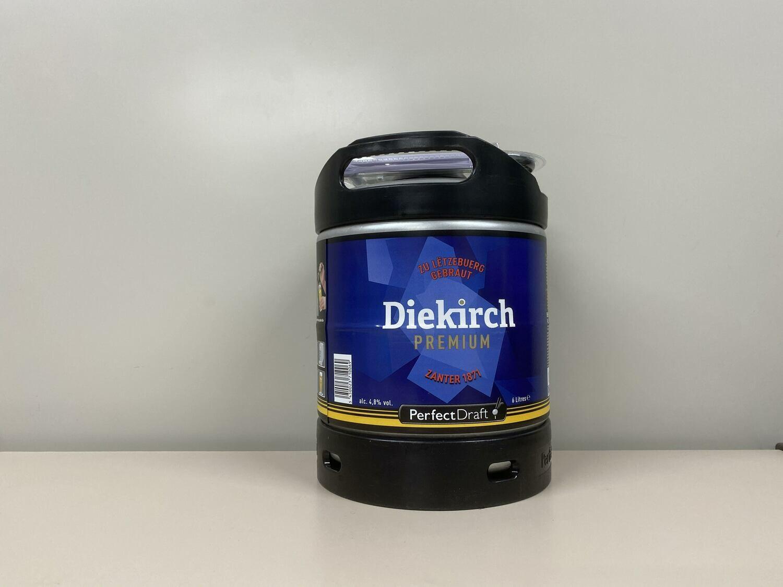 Bière Diekrich Premium Fût Perfectdraft 6l