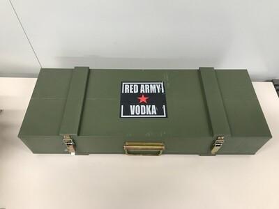 Coffret Vodka Red Army Kalashnikov 40°