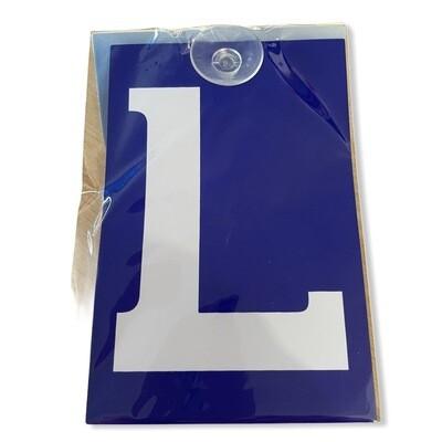 «L» Licence ventouse