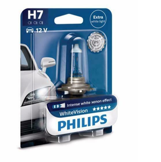Philips H7 - 12V - 55W - WhiteVision - blister
