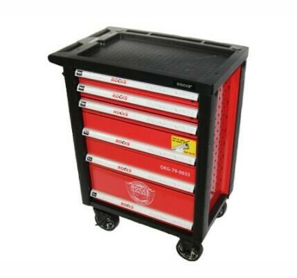 Servante d'atelier 6 tiroirs avec outils