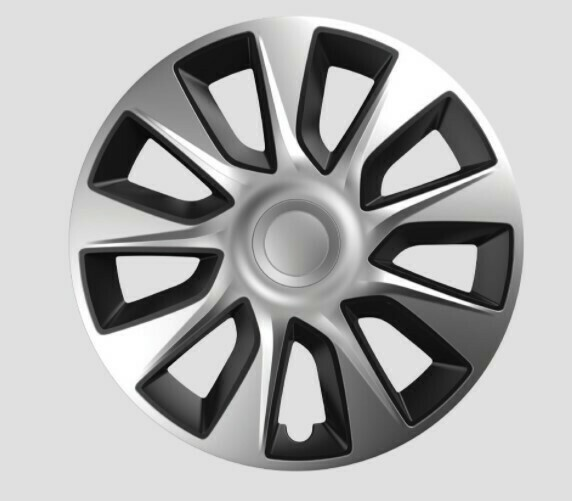 Enjoliveurs Stratos Silver / Black