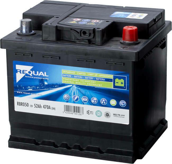 Batterie 12V 52ah 470A