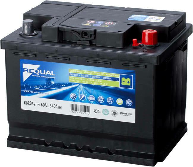 Batterie 12V 62ah 540A