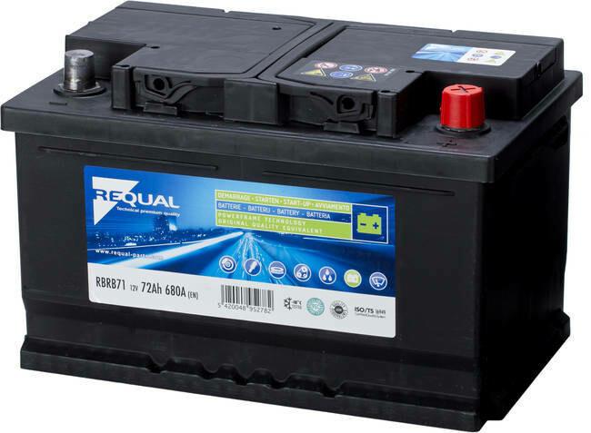 Batterie 12V 72ah 680A Basse