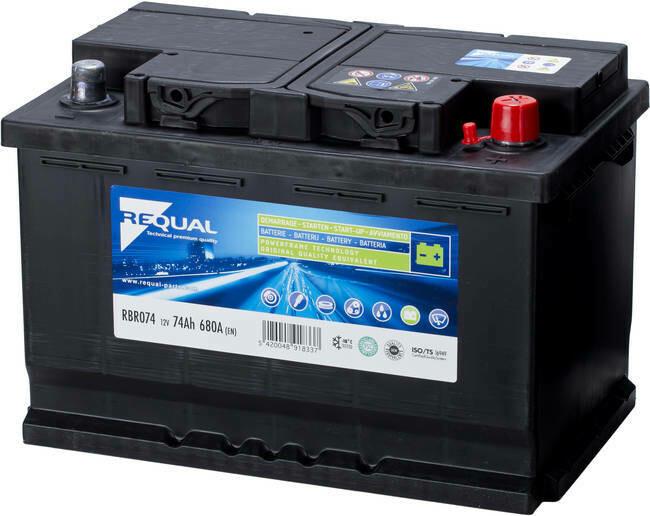 Batterie 12V 74ah 680A