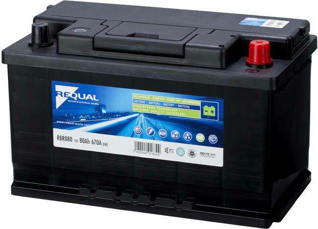 Batterie 12V 80ah 740A