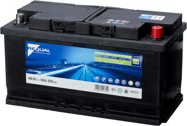 Batterie 12V 100ah 830A