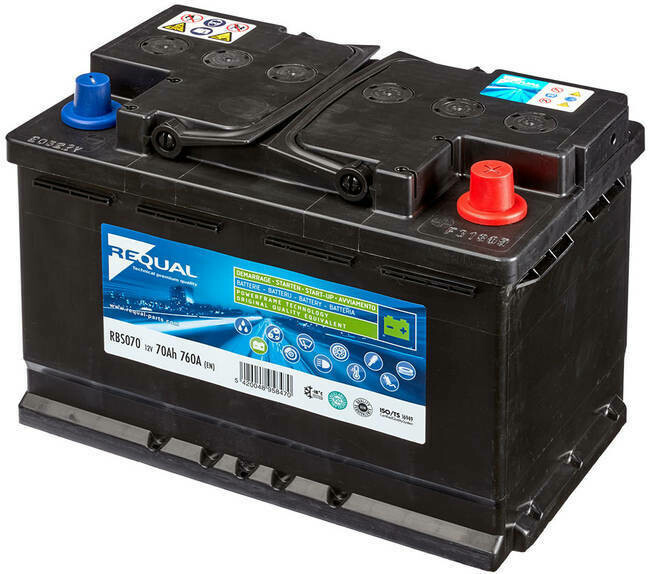 Batterie Start & Stop 12V 70ah 760A