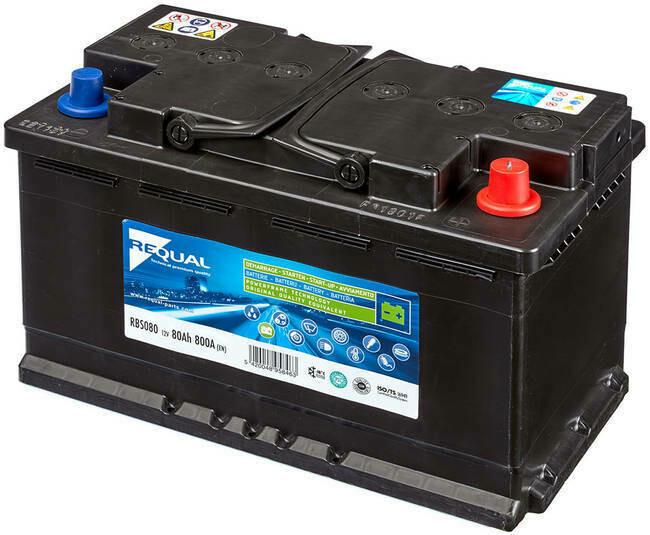 Batterie Start & Stop 12V 80ah 800A