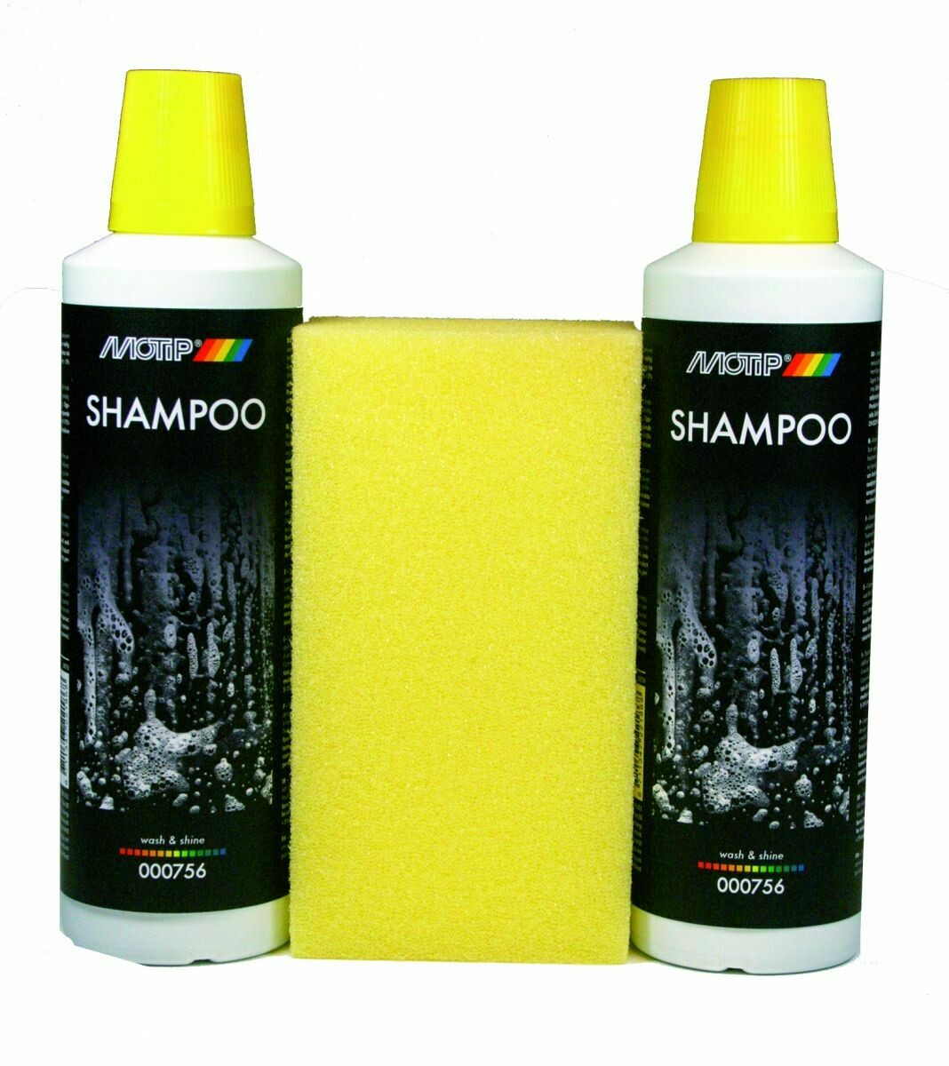 MOTIP SHAMPOOING BRILLANT 2X 500ML