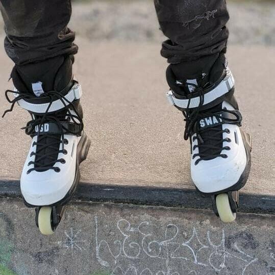 Custom Inline Skate Straps