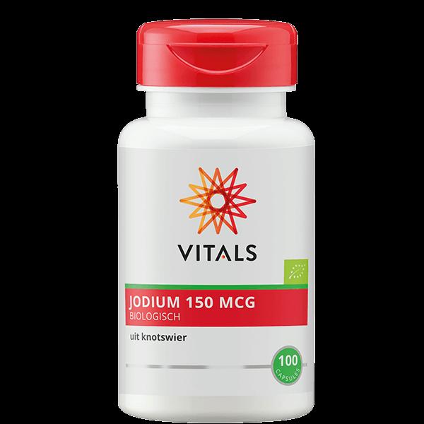 Jodium Biologisch - 100 capsules