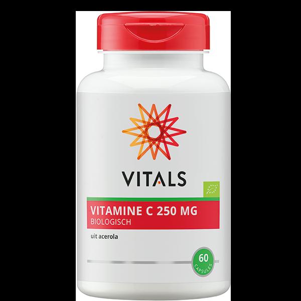 Vitamine C Biologisch 25 mg (60 capsules)