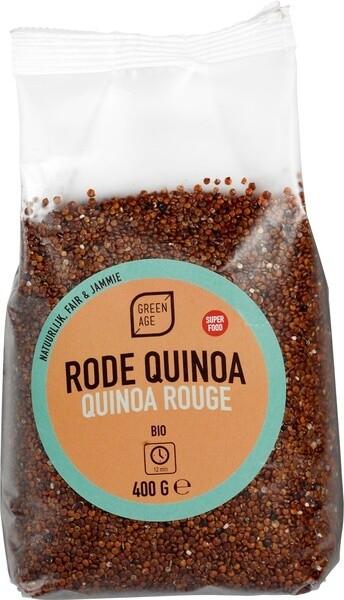 BIO Rode quinoa (400 gram)