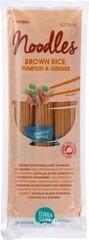 BIO Bruine rijstnoedels pompoen & gember (250 gram)