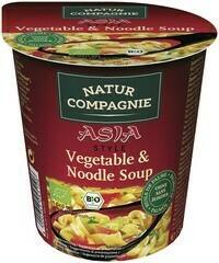 BIO Aziatische groentenoodlesoep (55 gram)