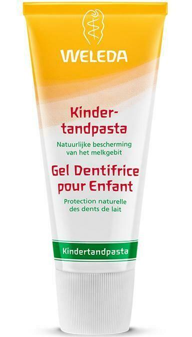 Kindertandpasta zonder fluoride (50 ml)