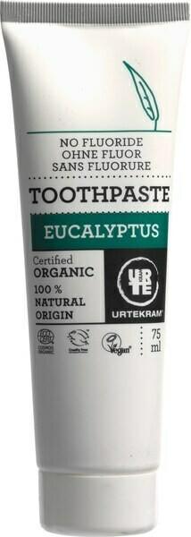 Eucalyptus tandpasta zonder fluoride (75 ml)