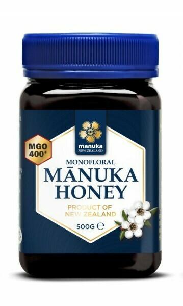 Manuka honing MGO 400+ (500 gram)