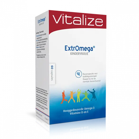 ExtrOmega® Kindervisolie (60 of 180 capsules)