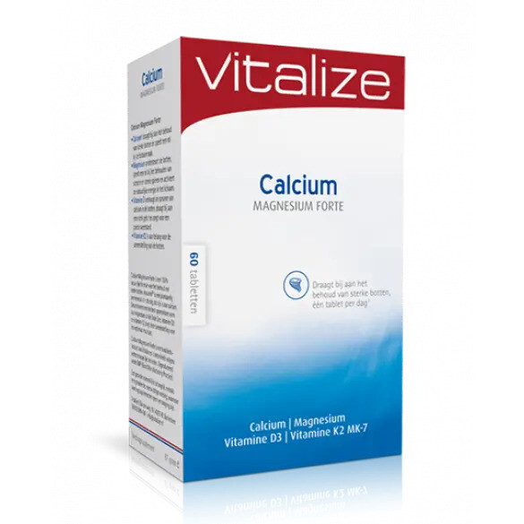 Calcium Magnesium Forte (60 of 120 tabletten)