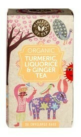 BIO Turmeric, Liquorice & Ginger Tea (20 stuks)